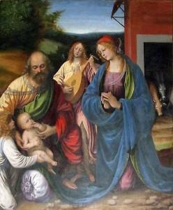 Gaudenzio Ferrari, La Natività (Chiesa di S. Maria, Arona)