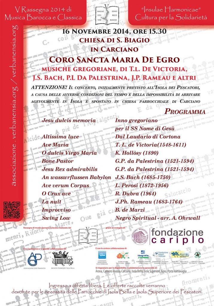 Carciano, IV concerto di Insulae Harmonicae