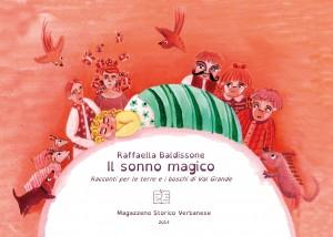 La prima di copertina del Sonno Magico, di Raffaella Baldissone