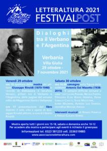 Dialoghi tra il Verbano e l'Argentina